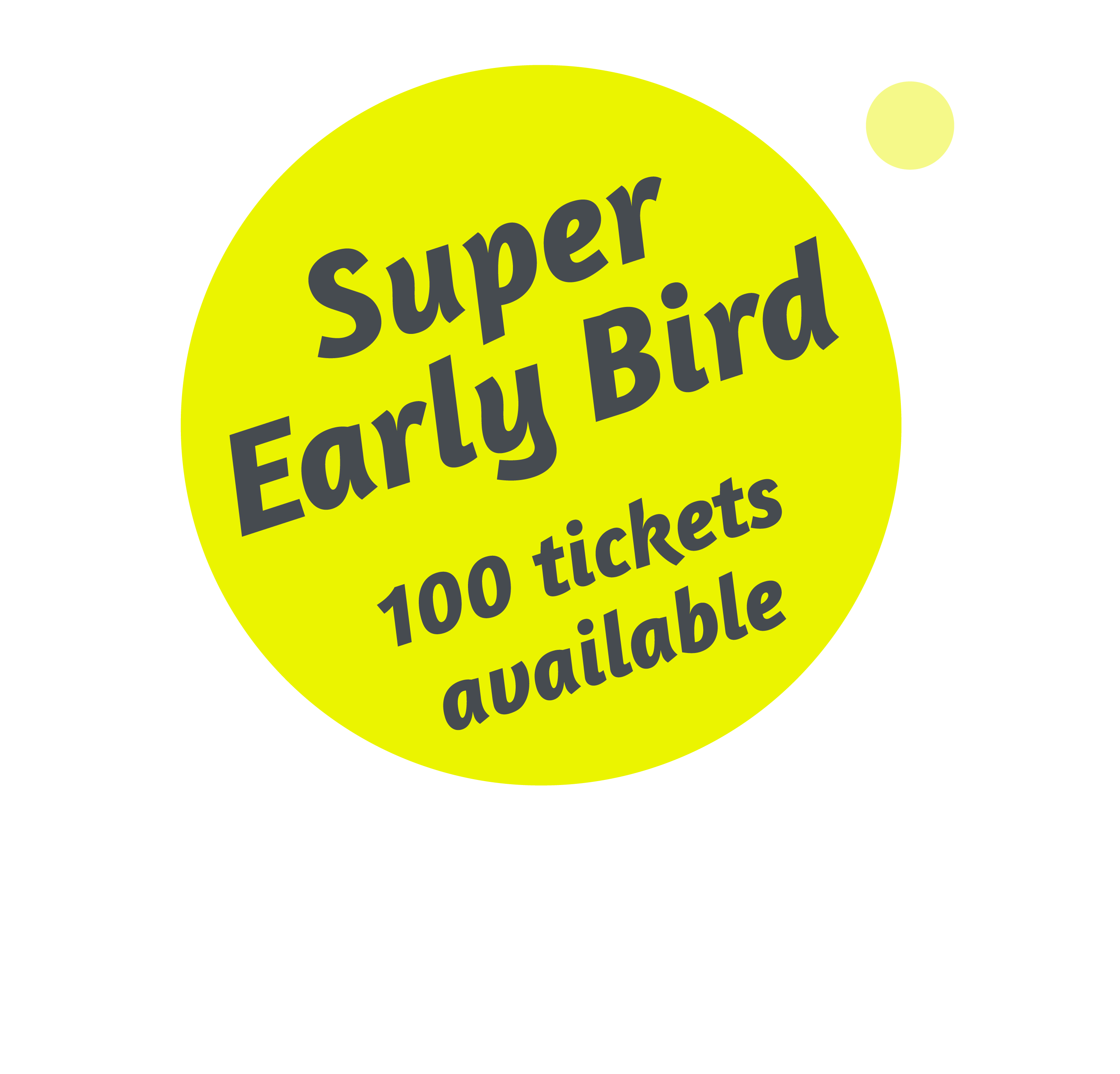 Promotion text: Super early bird: limited to 100